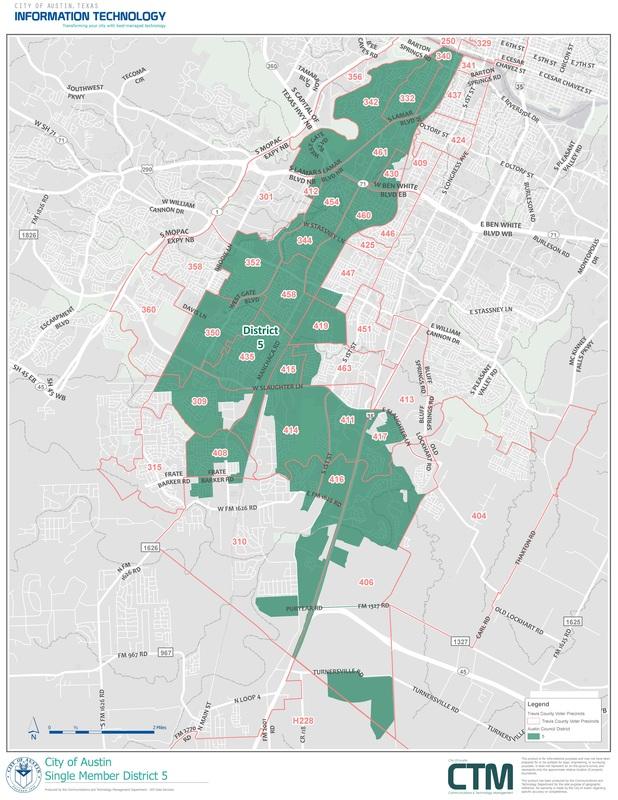 Maps  Precinct 417 Travis County Texas